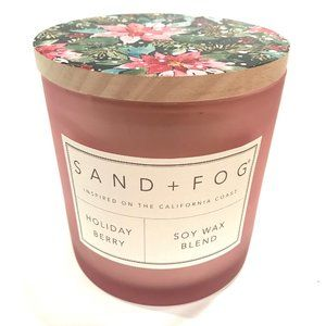 Sand + Fog Holiday Berry Christmas Soy Candle 12oz